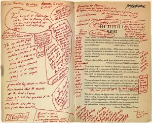 David Foster Wallace: Die Original-Manuskripte