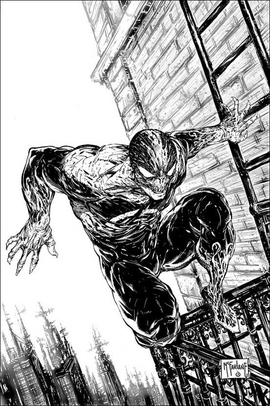"""Der neue """"Held"""" """"Haunt"""" erinnert ein bißchen an """"Spiderman"""". (Copyright by Todd-McFarlane Productions Inc. und Panini-Verlag.)"""