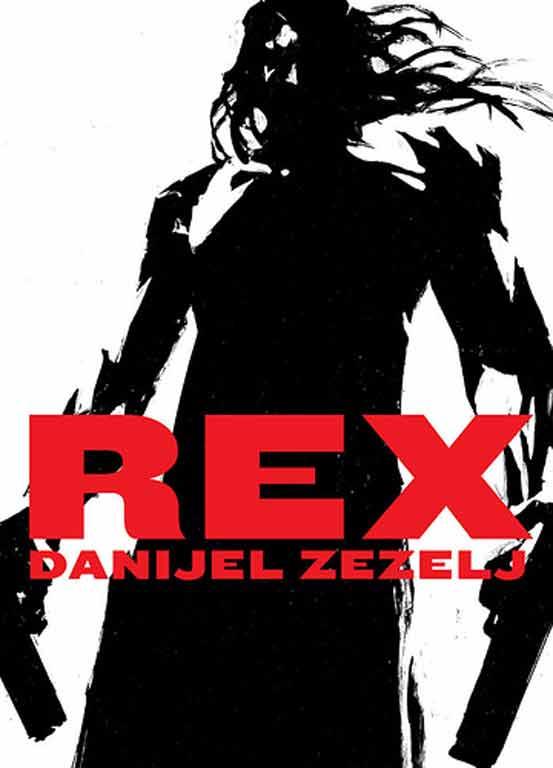 Cover einer von Danijel Zezelj's selbst geschriebenen Comic-Novellen: Kein Strich zu viel und eine kraftvolle Flächigkeit als Reminiszenz an den Expressionismus.