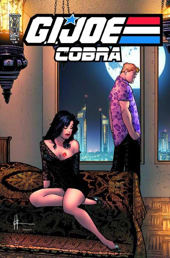 """Ein Cover der Serie """"GI-Joe Cobra"""" von Altmeister Howard Chaykin."""