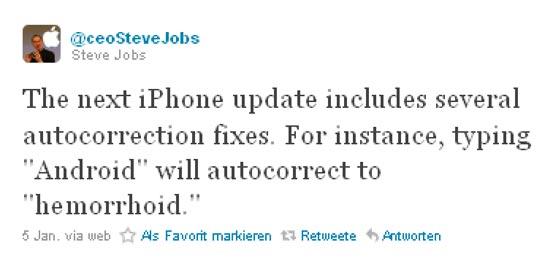 Steve Jobs Twitter