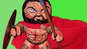 300's König Leonidas wird lebendig: Von 2D zu 3D, vom Comic über den Film in die Wirklichkeit