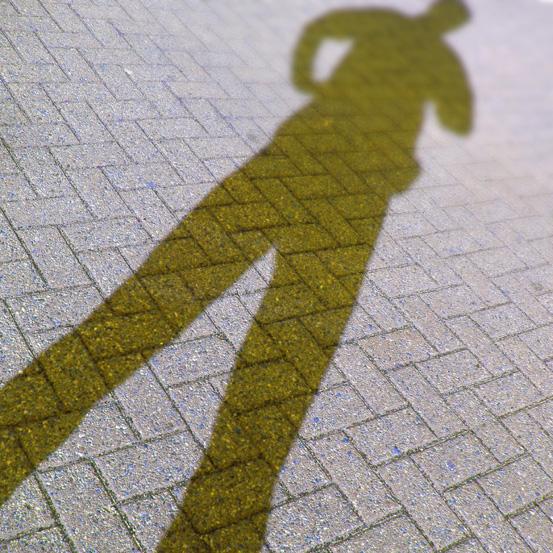 Lange Schattenbeine