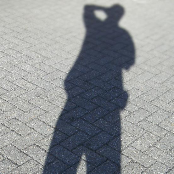 Dunkler Schatten