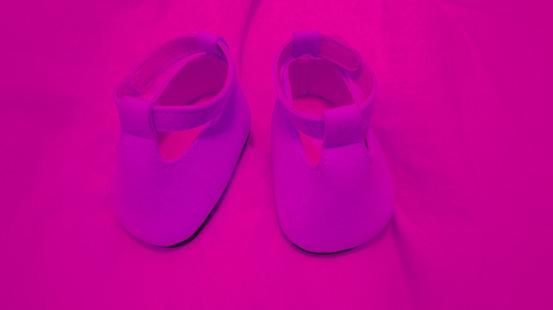 Zwei kleine Schuhe