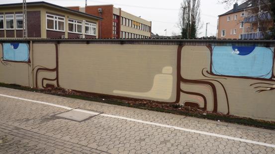 Gesichts-Graffiti