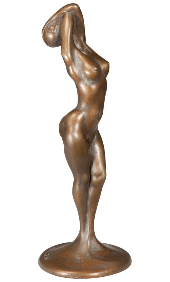 """Colani nennt die Skulptur """"Meine schöne Kopflose""""."""