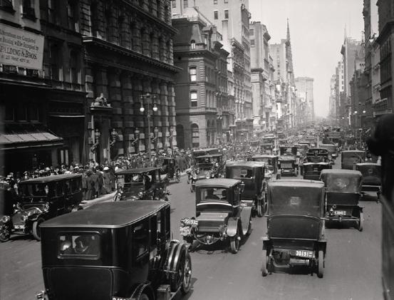 New York um die Jahrhundertwende.