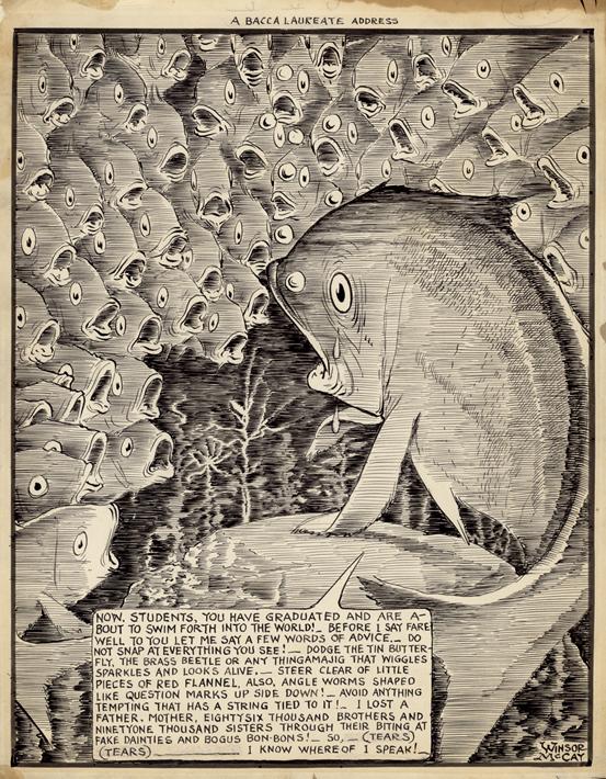 Winsor McCay war zeichnerisch geprägt von der Klarheit des Jugendstils.