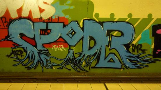 Was steht da geschrieben? Urban Art in Cologne.