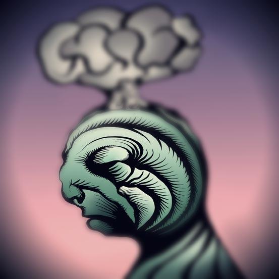 ausradierte Gedanken