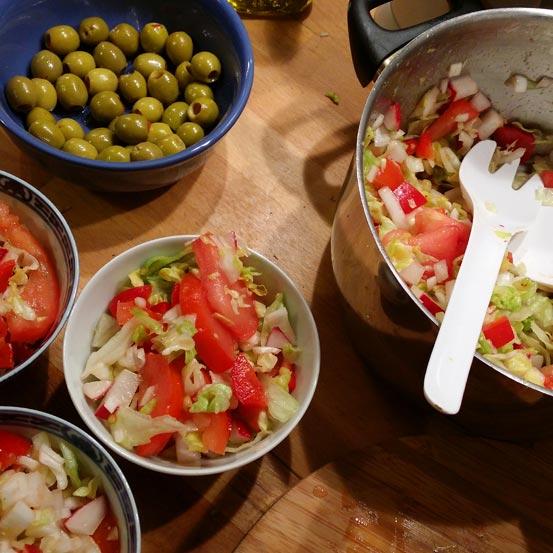 Salatmenü