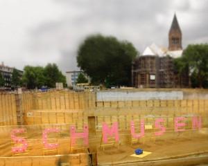 Stadt Essen: Ein künstlerisches Schmuseschmunzeln