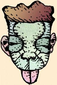 Wimmelbild: Flirrendes Kammerflimmern in geschlossenen Räumen