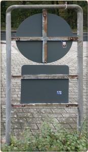 Fadenkreuze aus der Näherei