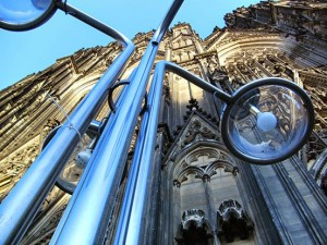 Kirchenarchitektur: Der Kölner Dom von unten