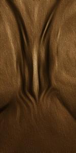 Bronzedetail Jesusfigur