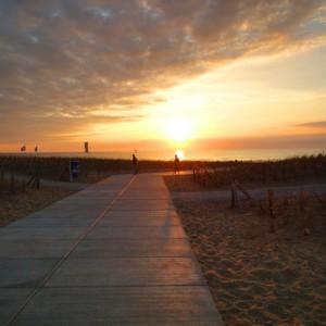 Katwijk, Niederlande: Strandsäume und Meeresschäume