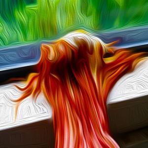 Der coole Schlaf der Magmakönigin…