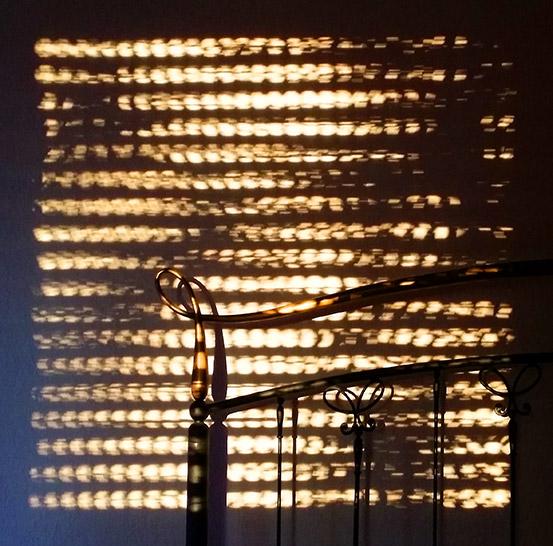 Sonnenmuster