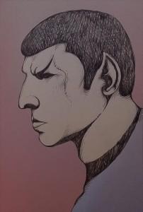 Als Mr. Spock sich einmal geärgert hatte
