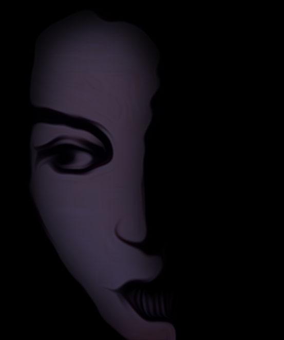 Trauerfrau