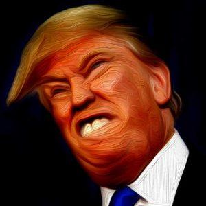Der nackte Präsidentschaftsanwärter: Donald Trump als Kunstfigur