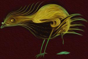 Der Vogel-V-Mann