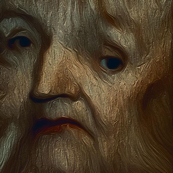 Gesichtsdeformation