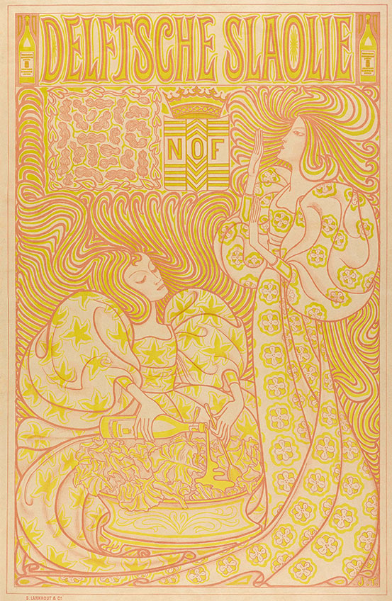 Toorop Jugendstil-Plakat