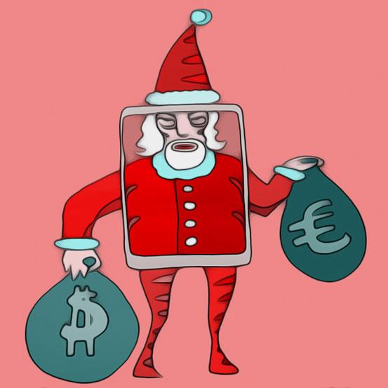 Illustration Weihnachtsmann