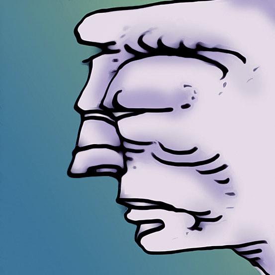 Boeser Blick