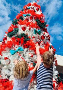 Weihnachtsgeschichte: Der Weihnachtsbaum der Dunkelheit