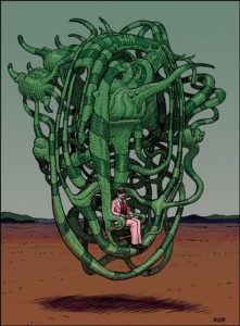 Zeichner Moebius als Meister des surrealen Traums: Ausstellung zur Comic-Zeichenkunst im Max Ernst Museum (1)