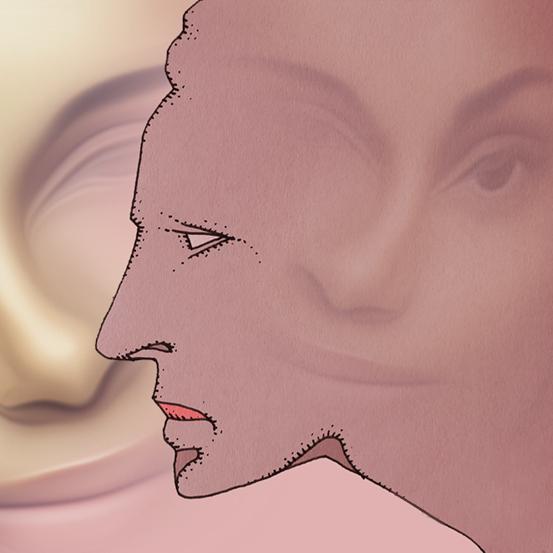 Gesichtsprofile